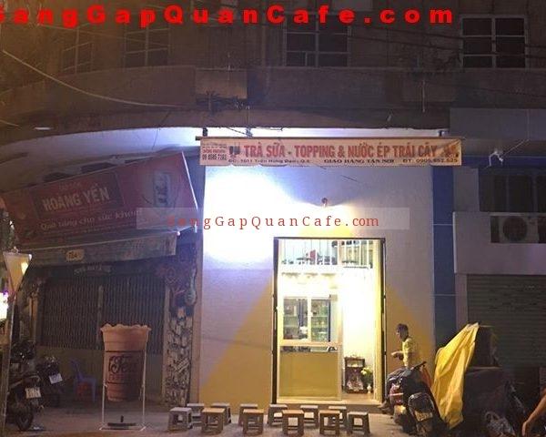 Sang quán cafe trà sữa quận 5