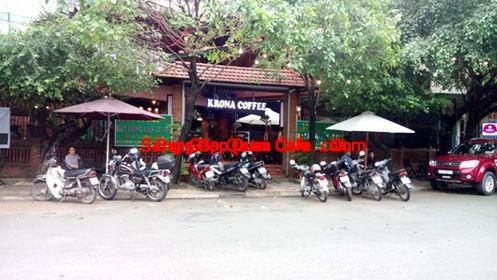 Sang quán cafe dĩ an bình dương