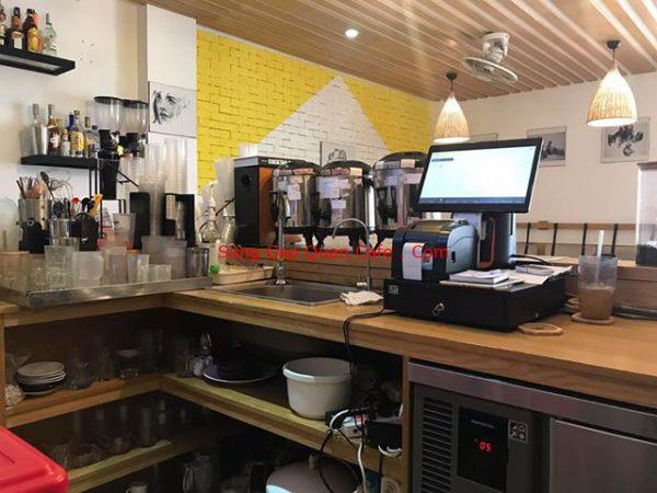 Sang quán cafe mặt tiền giá rẻ quận tân bình