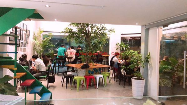 Sang quán cafe đẹp tại gò vấp