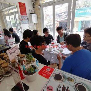 Sang quán cafe trà sữa đường D1 Bình Thạnh