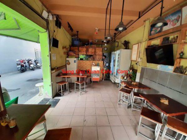 Sang nhượng cổ phần quán cafe tại Đa Kao quận 1