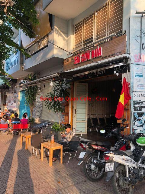 Sang quán cafe đường phạm văn đồng quận gò vấp
